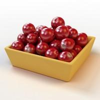 cranberry 3D models