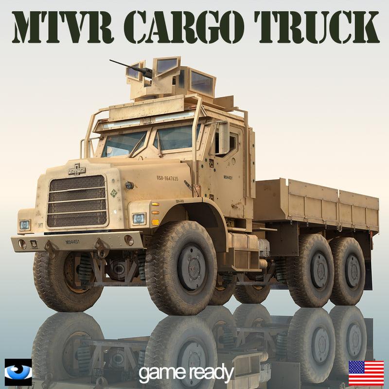 Oshkosh MTVR Military Cargo Truck MK23