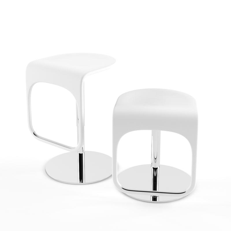 3d max ikea bar stool urban - Saddle stool ikea ...