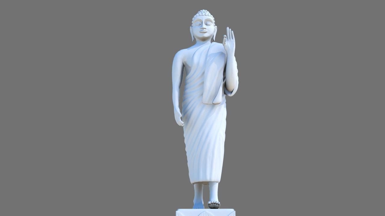 Buddha Sculpture 01