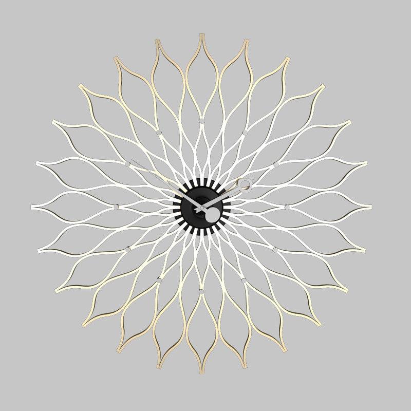 Sunflower_Clock_G.Nelson