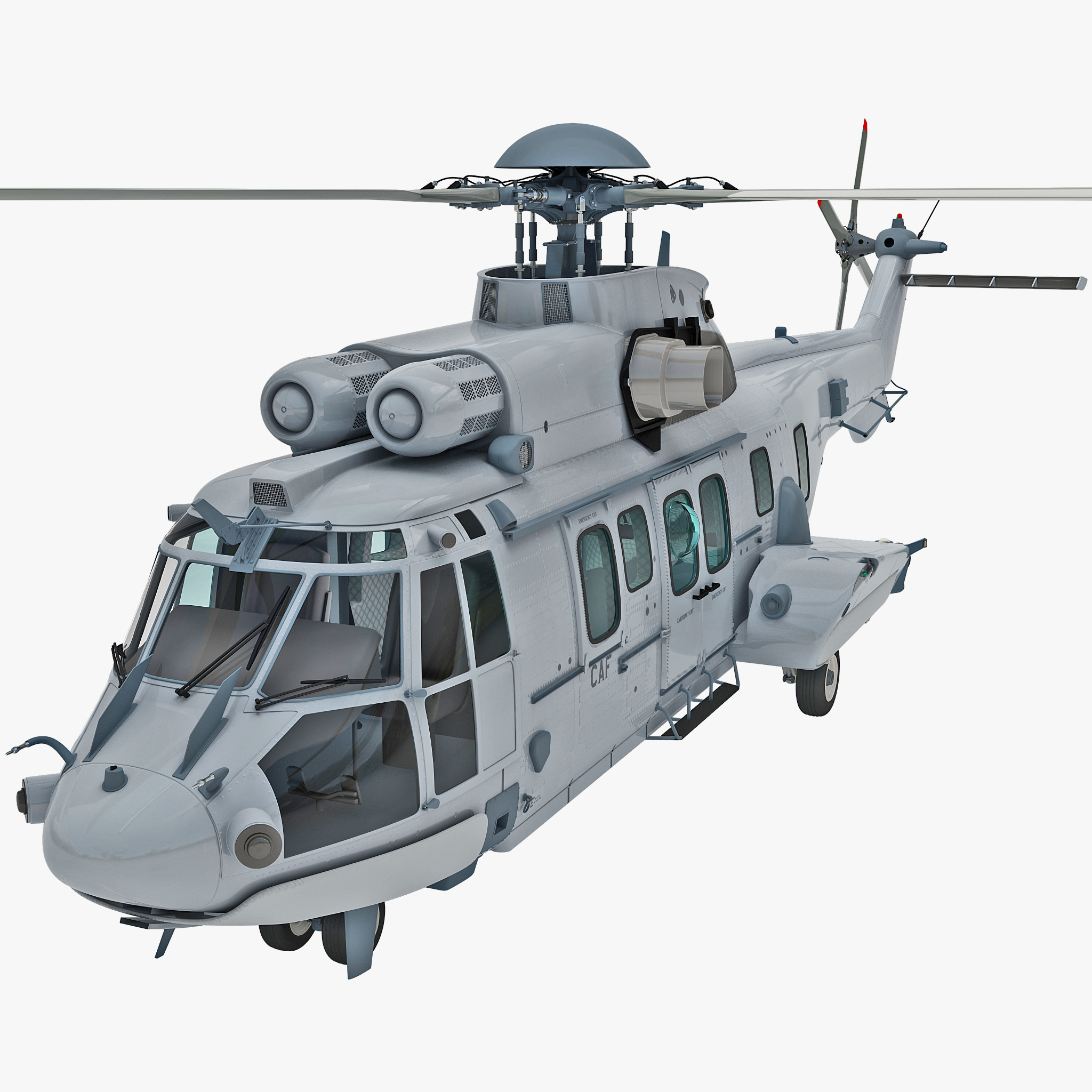 Eurocopter EC725 Caracal Tactical Transport Helicopter 3