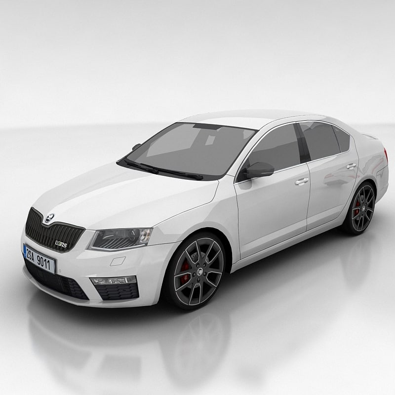 Skoda Octavia 3 RS liftback