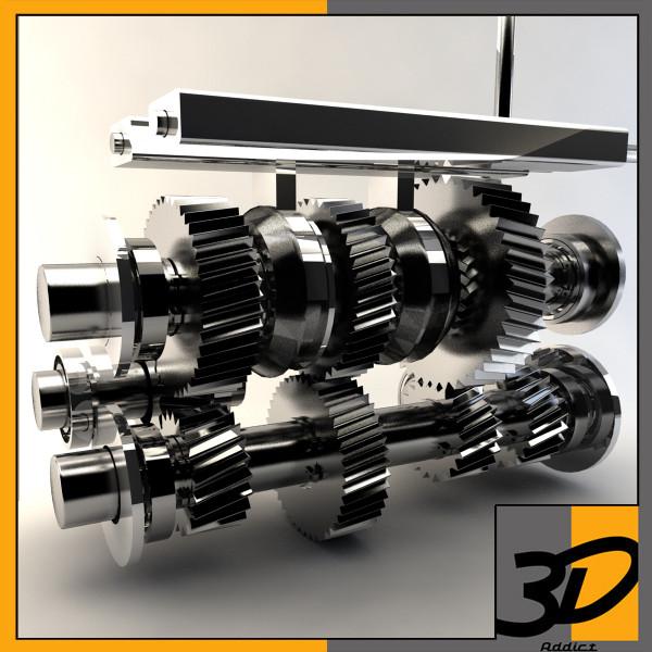 Manual Transmission 3D Models