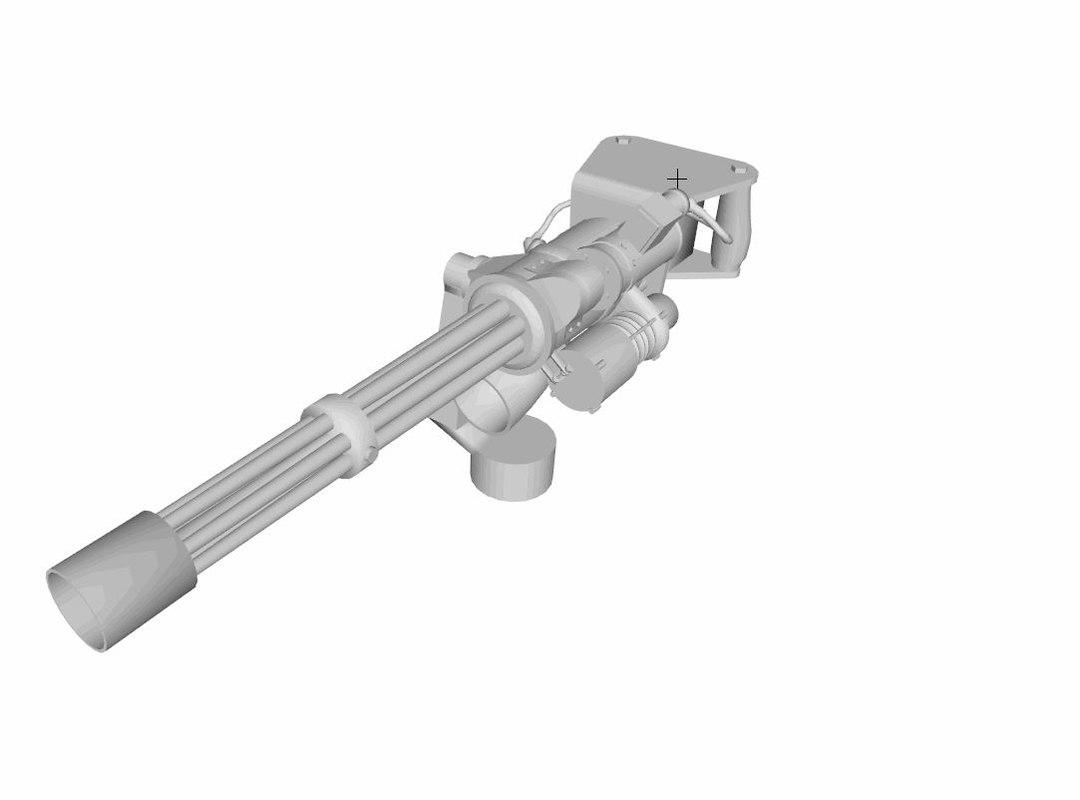M134 (untextured)