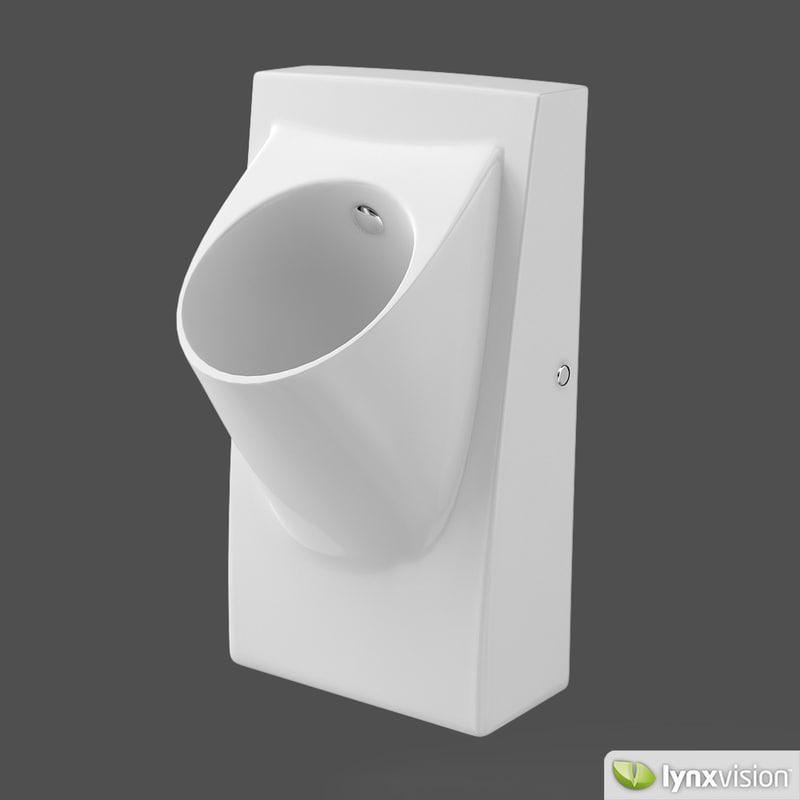 Max urinal architec for Duravit architec toilet