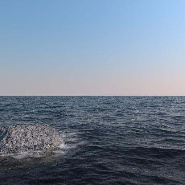 ocean sea waves 3D Models