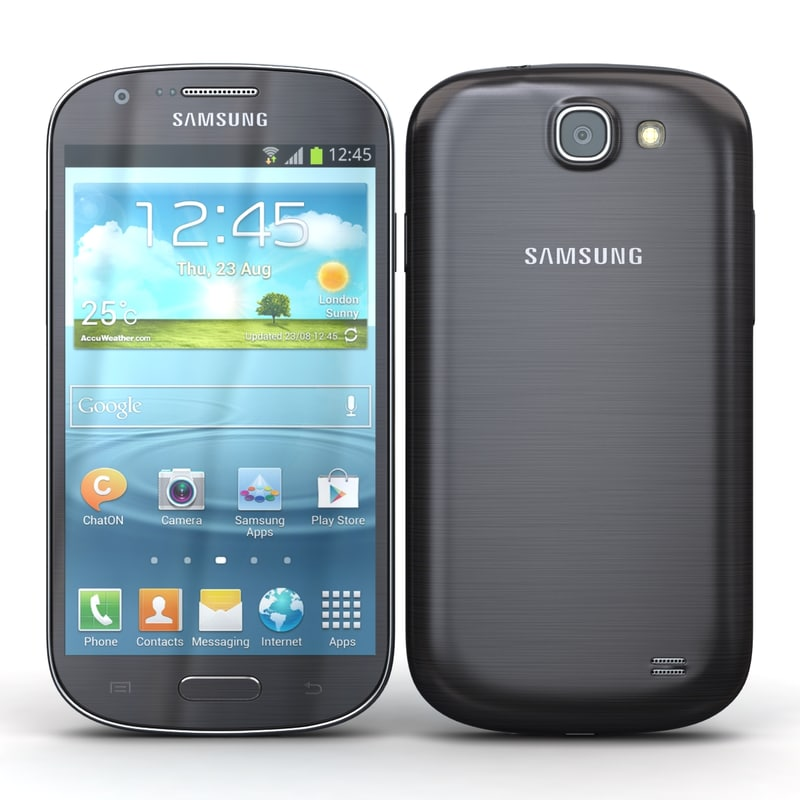 Samsung Galaxy Express I8730 Gray