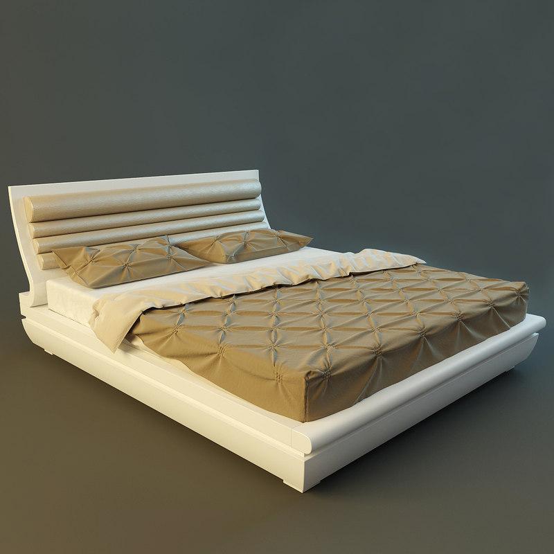 Bed Rubino from Treci