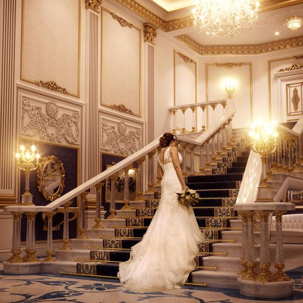 Bridal Palace Lobby 3D Models