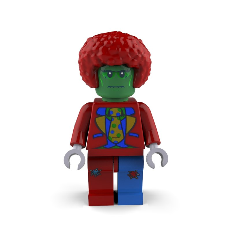 Zombie Clown Lego