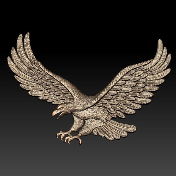 Eagle relief 3D Models