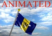 Barbados Flag 3D models