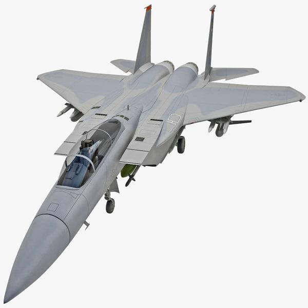 McDonnell Douglas F-15 Eagle 3D Models
