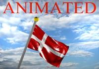 Denmark flag 3D models