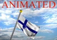 Finland flag 3D models