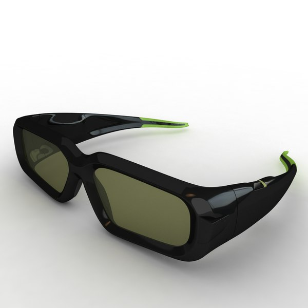Nvidia 3d vision glasses 3D Models