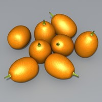 Kumquat 3D models