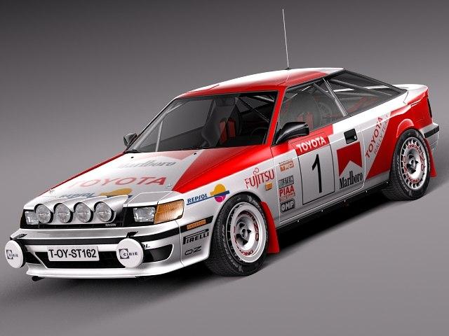 Toyota Celica 1985-1989 st165 RALLY