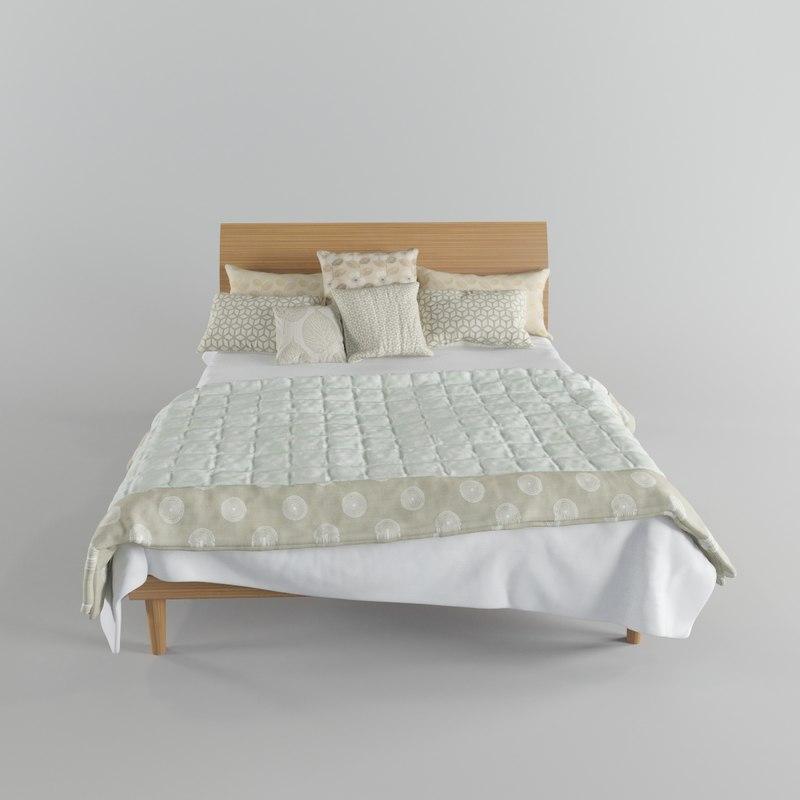 Harlequin bed