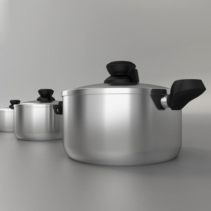 3 Pot pan cook