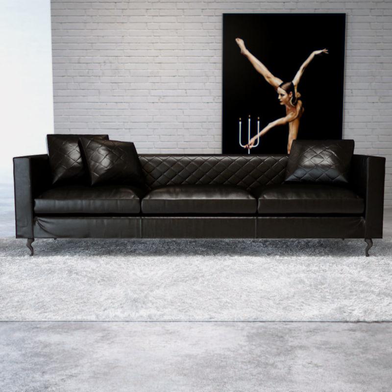 MOOOI Boutique Leather Sofa