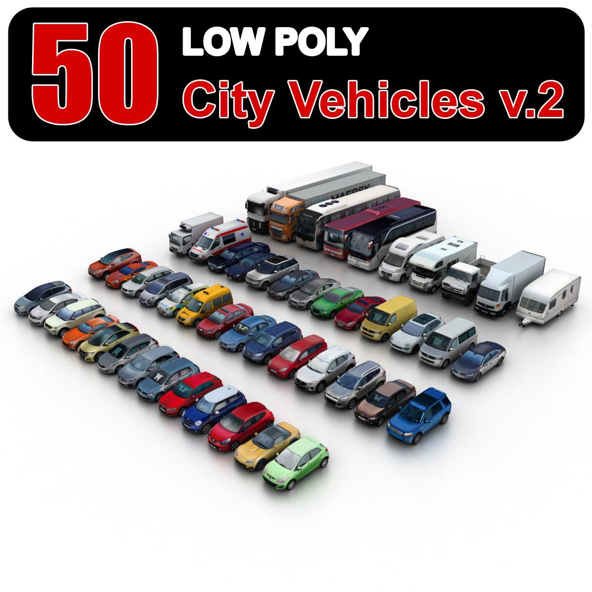 Free 3d models low poly - b