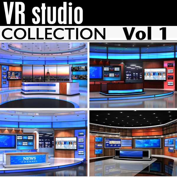 Vr Studio Collection Vol1 3D Models