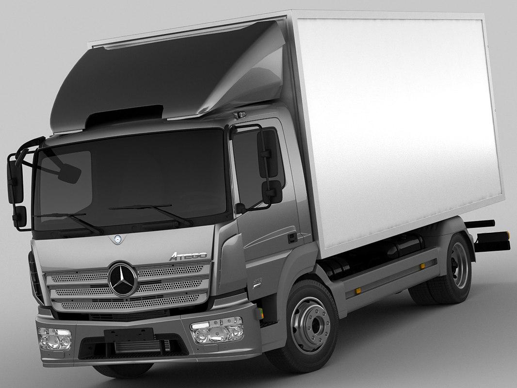 Mercedes Atego 2014 short