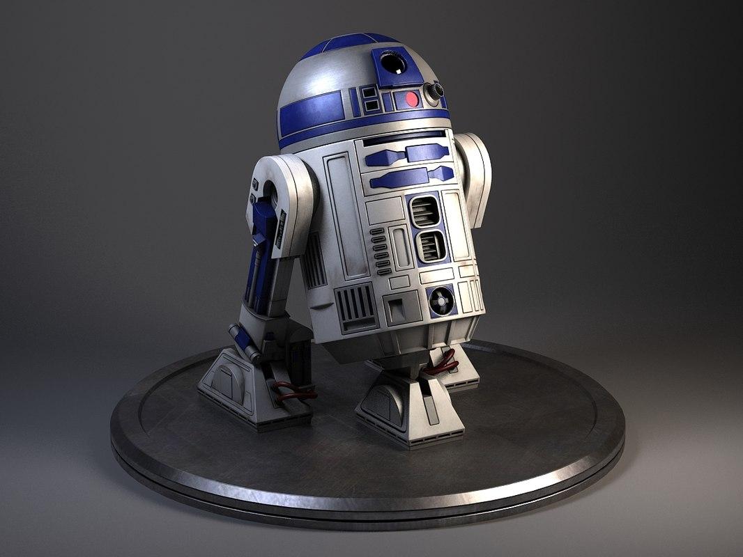 R2D2 Star Wars Droid Robot