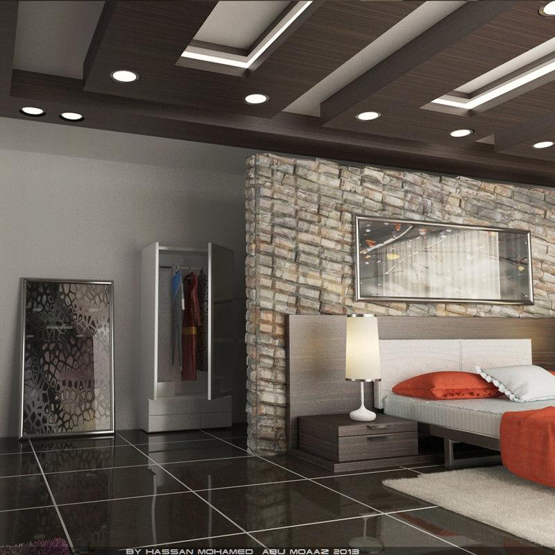 Interior Scene Master Bedroom