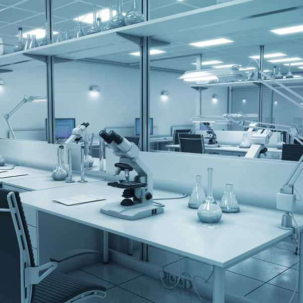 Research Laboratory Interior 3D Models