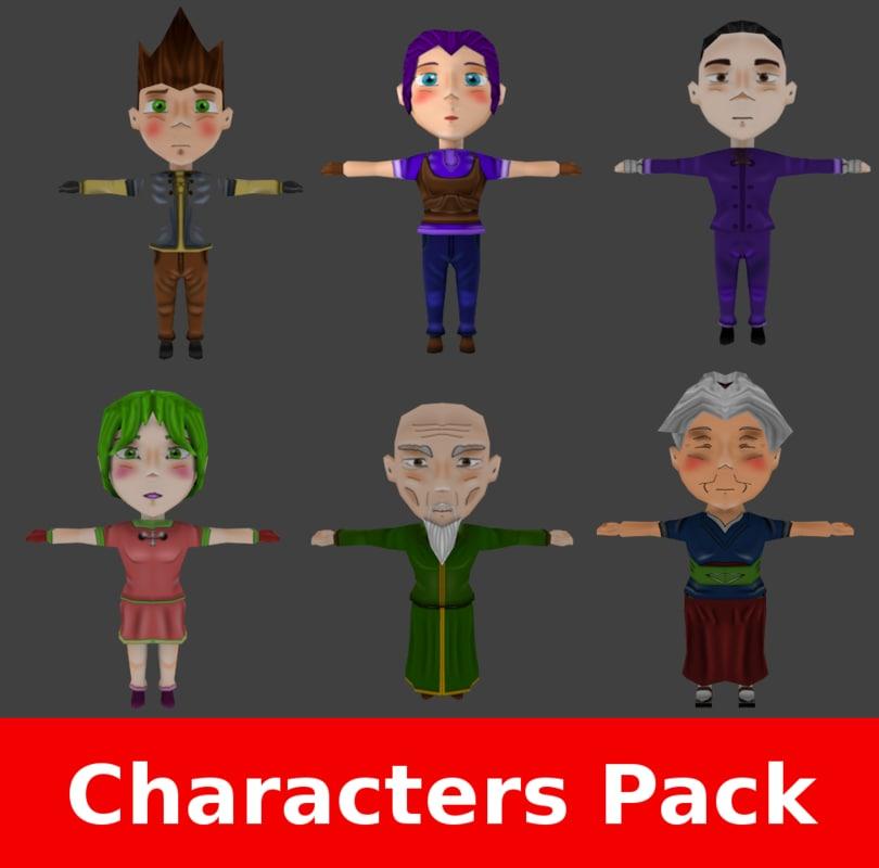 RPG Chibi Characters Pack