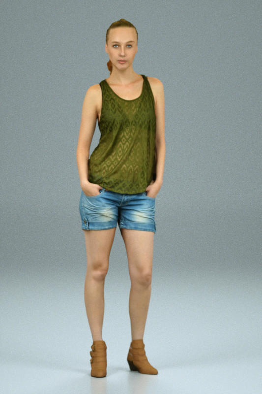 Green Top Girl