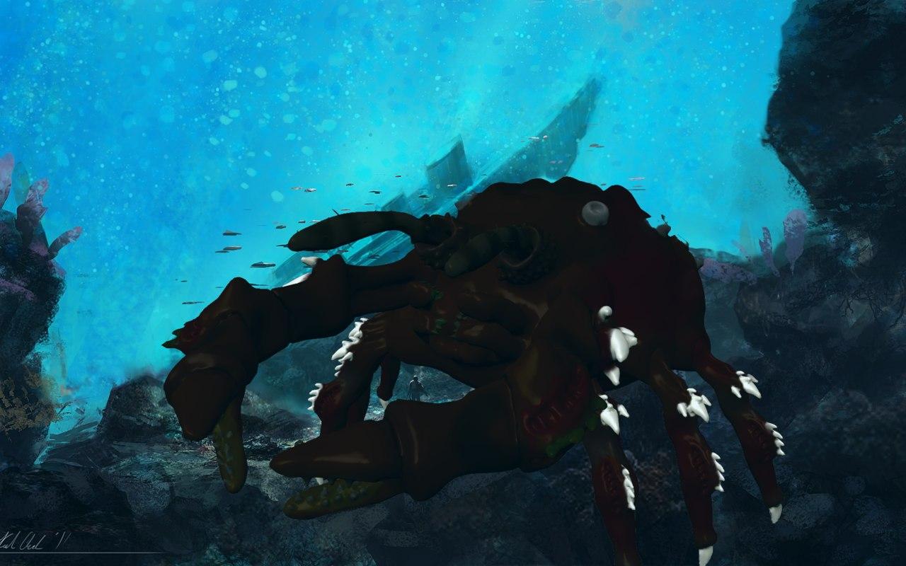 3d crab model