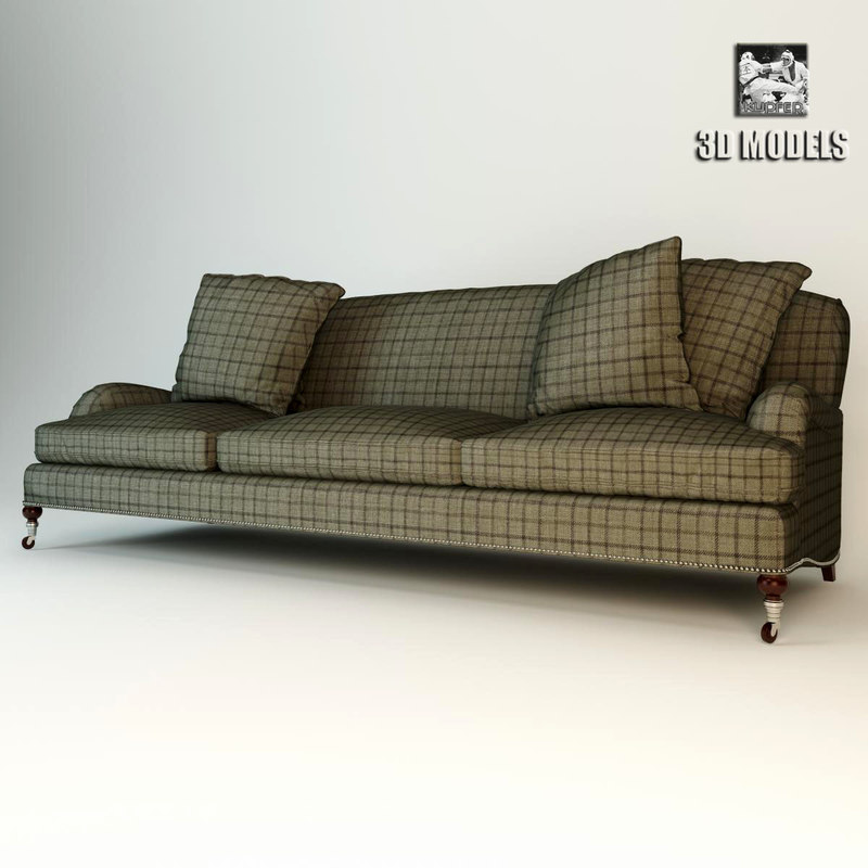 plaid sofa ralph obj. Black Bedroom Furniture Sets. Home Design Ideas