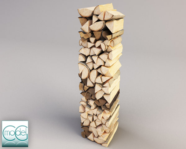 wood pile 4 Texture Maps