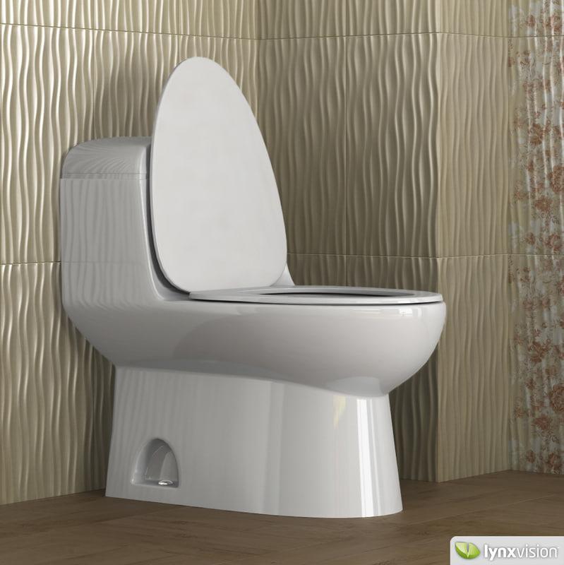 3ds max toilet architec for Duravit architec toilet