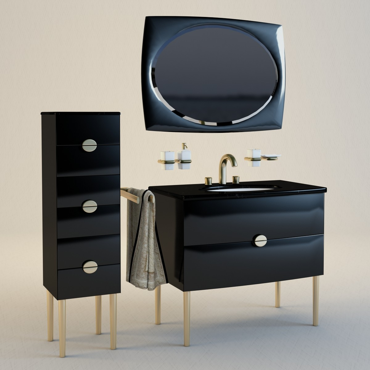 edition palais luxe keuco 3d obj. Black Bedroom Furniture Sets. Home Design Ideas
