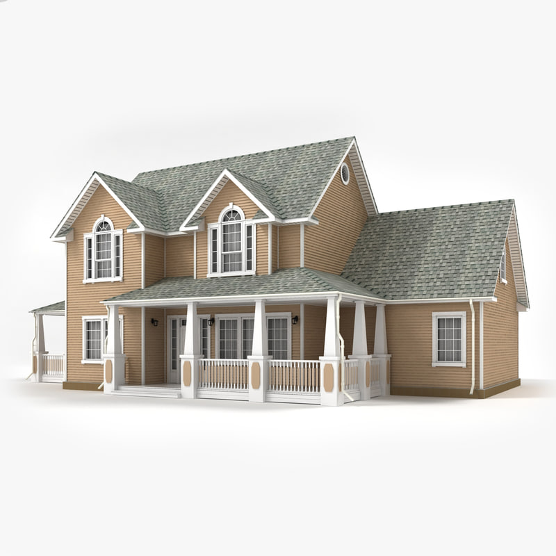 3ds Two Story Cottage