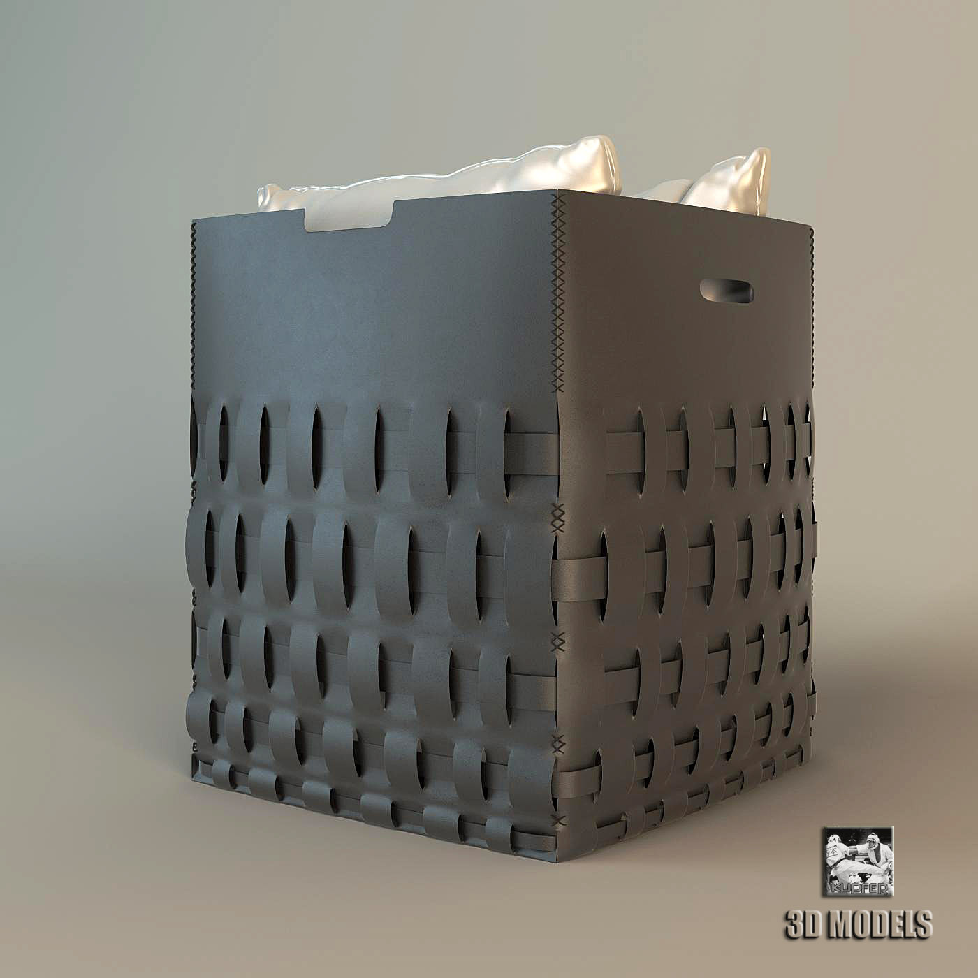 Braid Basket Pillows