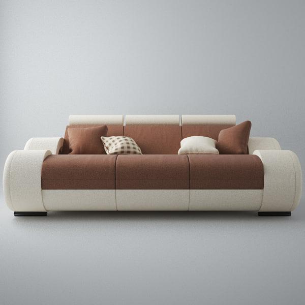 Modern Sofa 3x