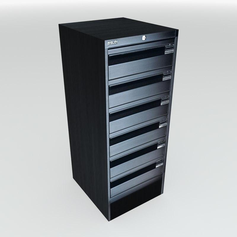 Bisley Small Filing Cabinet Max