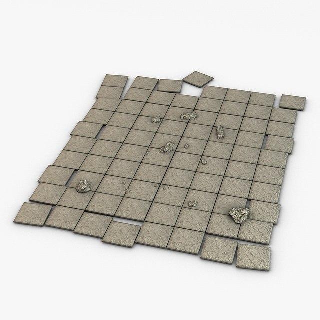 Stone floor module
