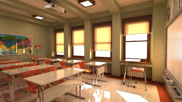 Classroom Design Models ~ Classroom elementary school d max