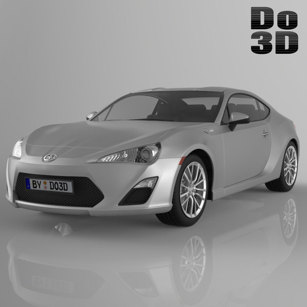 Scion FRS 2013 3D Models