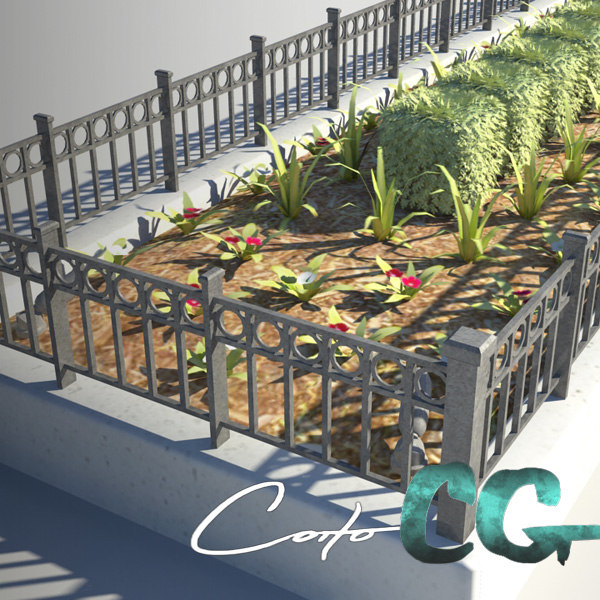 Gated Planter Bed
