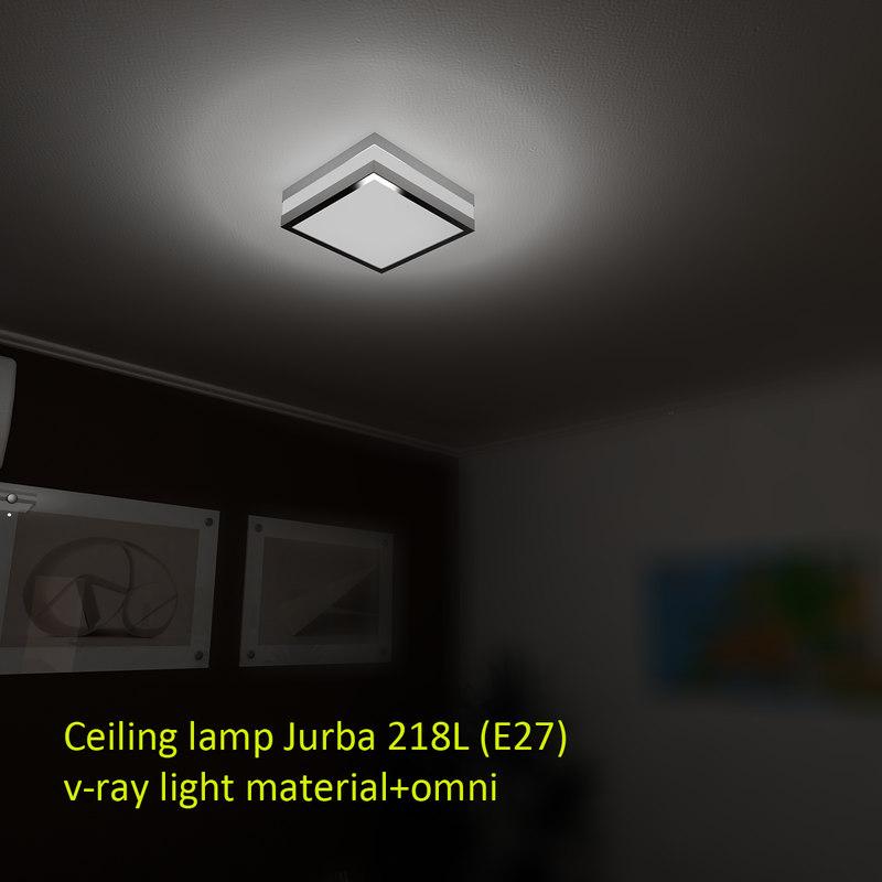 Ceiling lamp Jurba 218L (E27)