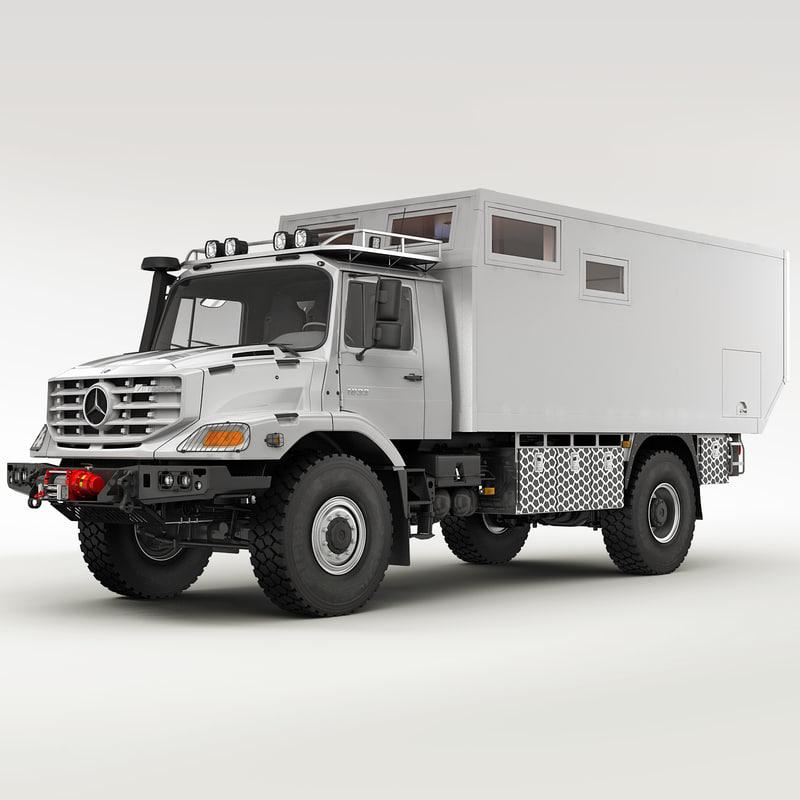 Mercedes zetros camper autos post for Mercedes benz zetros 6x6 expedition vehicle