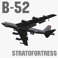 Boeing B-52 Stratofortress 3D models